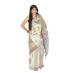 Tant Fabric Saree - S19-31